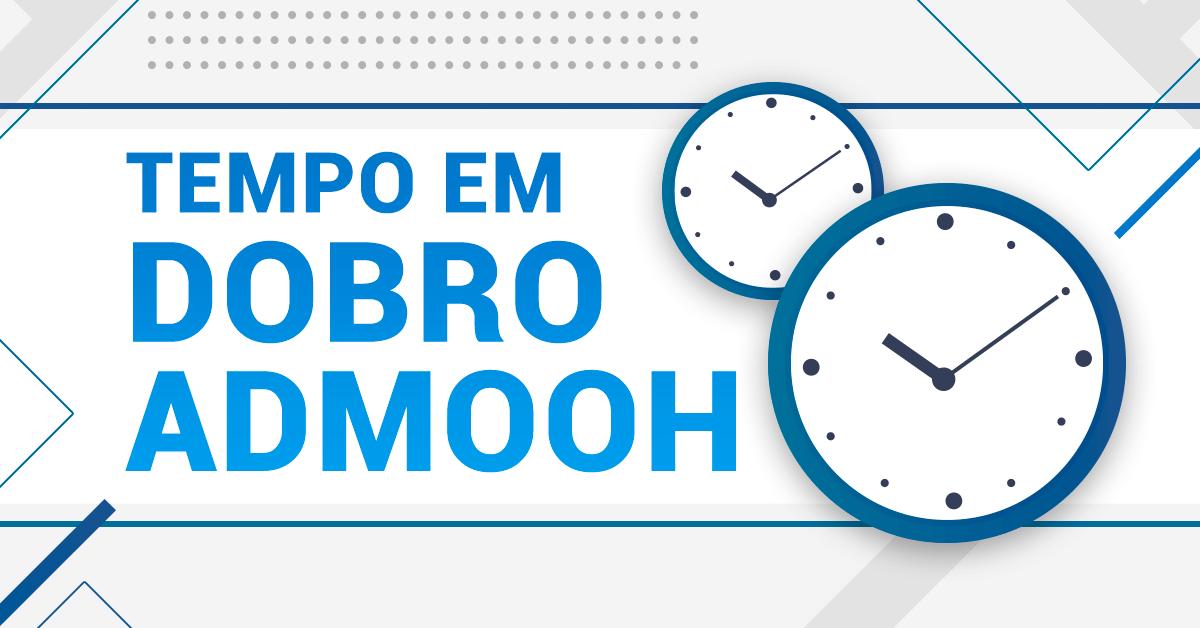Promoção Tempo em Dobro adMooH Corp