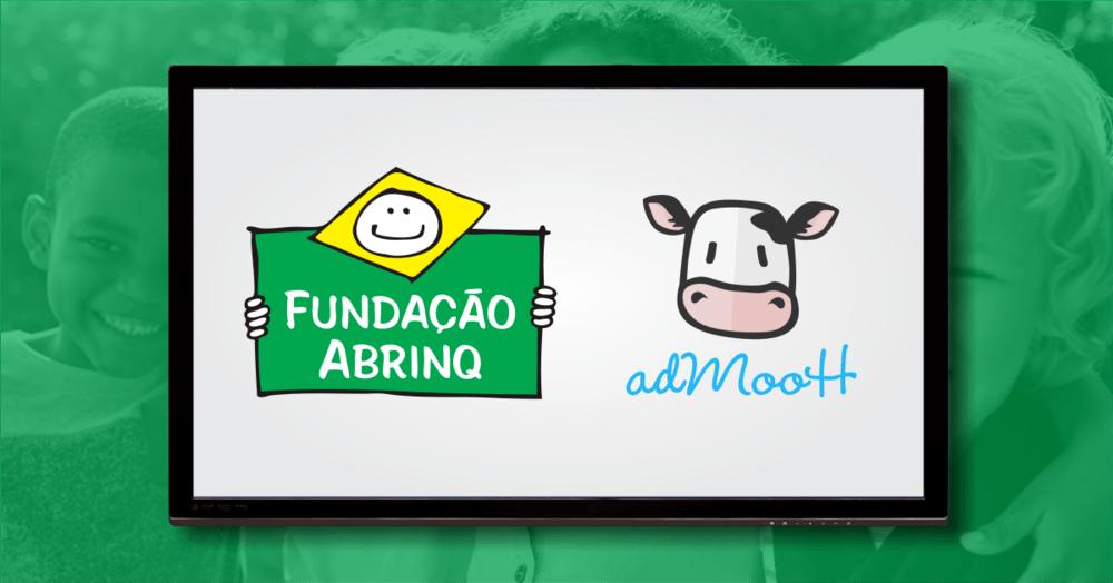 Ação solidária Fundação Abrinq e adMooH