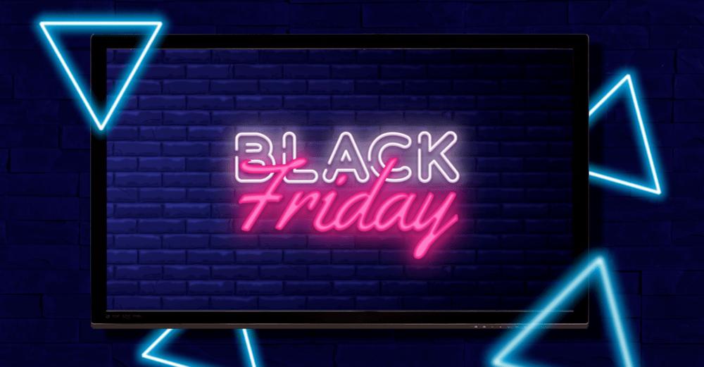 DOOH em sua Black Friday