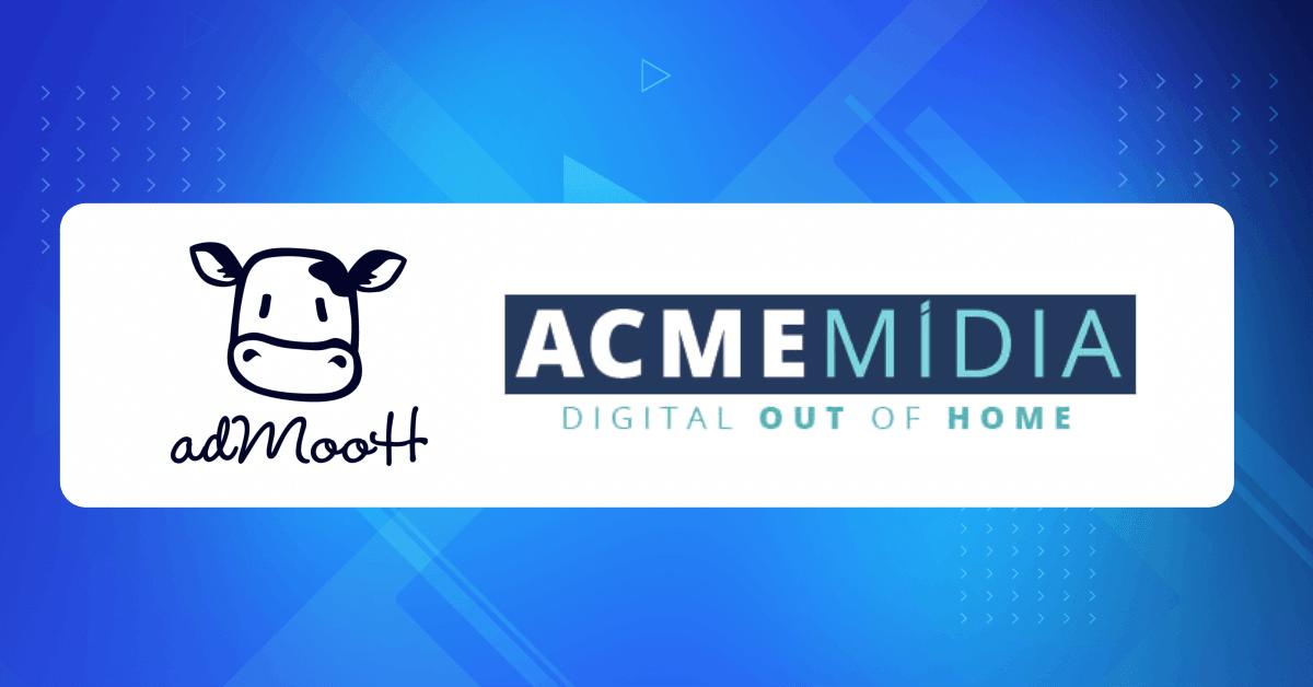 ACME Mídia: toda a experiência adMooH em uma nova parceria